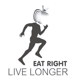 eat right live longer wordpress website logo